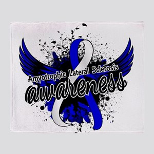 ALS Awareness 16 Throw Blanket
